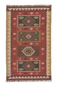 jaipur living bedouin amman bd04 zinfandel wood thrush area rug