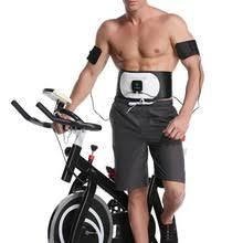 EMS Fitness Belt <b>Abdominal Muscle Training</b> And Toning Apparatus ...