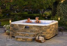 above ground jacuzzi. Fine Ground Above Ground Hot Tub Landscaping To Jacuzzi B