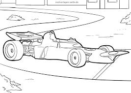 Kleurplaat Formule 1 Racewagen Gratis Kleurpaginas Om Te Downloaden