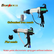 factory direct pump built in the main machine non isolation water based electrostatic spray paintingsprayspumpschoux