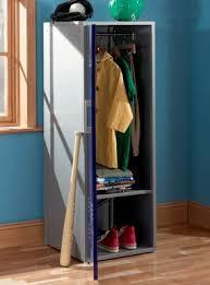 Powell Coat Rack Powell Furniture Teen Trends Navy Blue Home Storage Kids Locker Coat 63