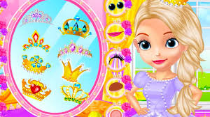 sofia the first sofia make up tutorial disney cartoon game for kids in english you