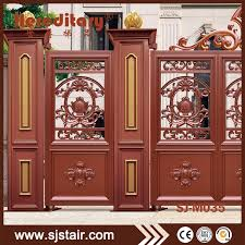 wrought iron door eco friendly fence gate grill design for outdoor