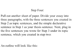 writing to the point an exercise in structure and logic ppt  5 step