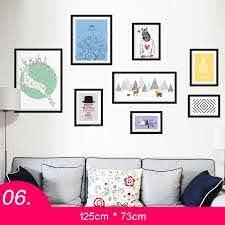 kitchen wall stickers photo frame pvc
