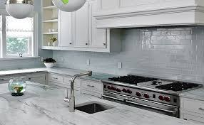 white subway glass backsplash tile