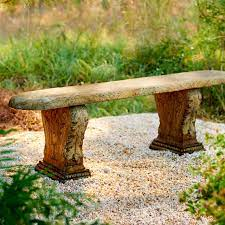 seats unique stone antique garden