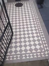 exterior floor tiles victorian geometric flooring