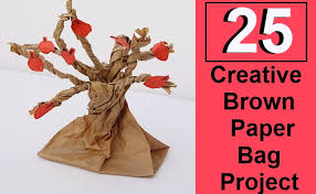 25 creative brown paper bag project