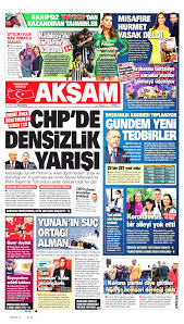 Akşam Gazetesi - Akşam Manşet Oku - Haberler 30 Kasım 2020