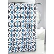 geometric shower curtain target cool at home polyester blue geometric shower curtain bathroom yellow and white bathroom do bedroom and bathroom