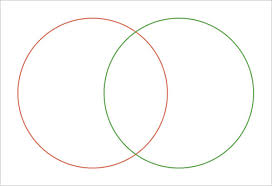 Circle Charts That Overlap 8 Circle Venn Diagram Templates Free Sample Example