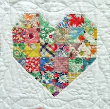 Emily's Heart Quilt : This Heart Quilt is a bride's quilt for my ... & Emily's Heart Quilt - sweet! This quilt has multiple rows of these hearts  and… Adamdwight.com