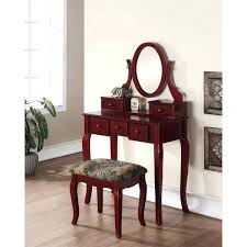 cherry wood makeup vanity cherry vanity stool 4 wood cherry makeup vanity table and stool set cherry wood makeup vanity white home furniture