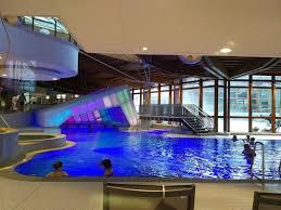 Light Transmitting Concrete Light Transmitting Concrete Cave Gives Bavarian Thermal Baths A
