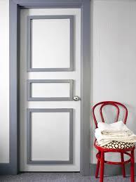 Bold Bathroom Door Update