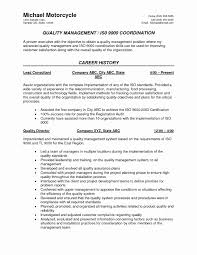 Quality Inspector Resume Example Best Of Quality Inspector