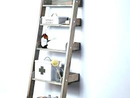 full size of bathroom ladder shelf white ikea diy storage small furniture engaging stor leaning over
