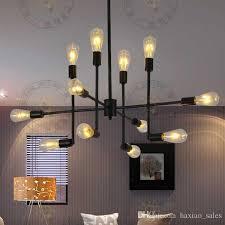pendant lighting pictures. Tom Dixon Vintage Lights Retro Pendant Lighting Iron Hanging Lamp 12 Heads Restaurant Coffee Bar Pictures