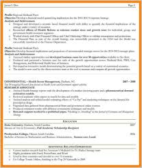 Two Page Resume Format For Experienced Design Example Template Free