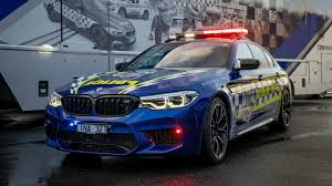 Police Car Lights Uk Bmw M5 Competition Becomes The Fastest Police Car In Australia