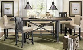 yosemite counter height dining set  haynes furniture virginia's