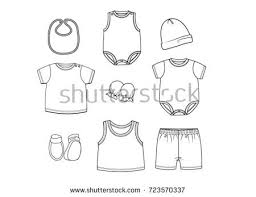 Clothes Template Free Baby Fashion Icon Vector Download Free Vector Art Stock