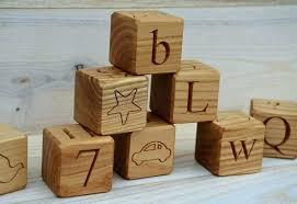 wood letter blocks wood letter blocks wooden alphabet blocks wood blocks gift wood letter cubes personalized