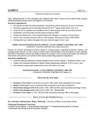 Sales Executive Resume Format