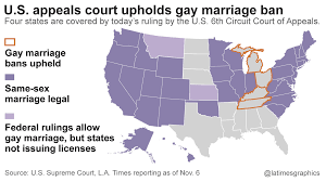 L a times gay marriage