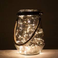 Lights For Glass Vases Rope Handle Hurricane Vase With Led Lights