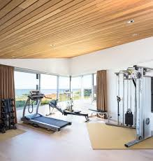 home gym lighting. gym lighting design home contemporary with green roof open concept view n