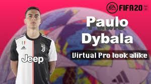 Paulo Dybala - Fifa 20 Pro Clubs look alike - YouTube