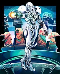 Metroid Light Suit Light Suit Fan Art Metroid