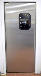 Double Swinging Kitchen Doors Stainless Steel Restaurant Kitchen Doors In Los Angeles