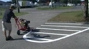 trueline striping machine t 2000 line painting parking lot striping equipment paint striper you