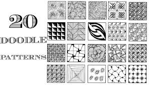 Zentangle Patterns Classy Easy 48 Zentangle Patterns Doodle Patterns YouTube