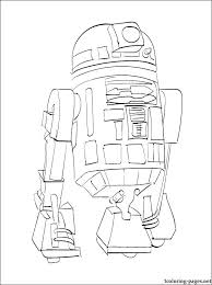 R2d2 Coloring Pages Coloring Page Star Wars Coloring Page Robot