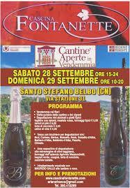Festa in Cantina per la Vendemmia - 28 & 29 Settembre | Produttori di Vino  a Santo Stefano Belbo (CN)