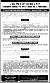 post diploma training program job in ninpo karachi chascent  post diploma training program job in ninpo karachi chascent mianwali 2015