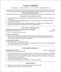 Sample College Resumes Mock Resume For Students Sample Resume ...