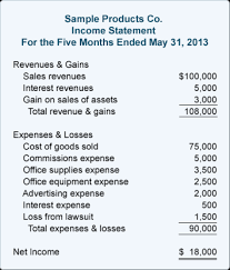 Sample Income Statement Mesmerizing Download Our Free Income Statement Template