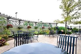 patio with outdoor kitchen outdoor funeral home reception
