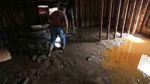 flooded basement.  Basement Flooded Basement Man Walks Through Thick Mud P HD 1919 Stock Video Footage   Videoblocks On Basement