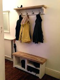 Coat Rack Shoe Storage Delectable Coat And Shoe Rack Hallway Coat And Shoe Storage Ideas Shoe And Coat
