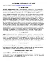example of process essay writing essay topics cover letter process essay examples