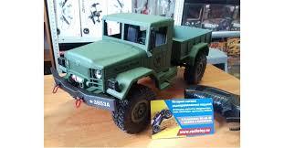 <b>Радиоуправляемый военный</b> грузовик <b>Heng Long</b> 3853A - 1/16 ...