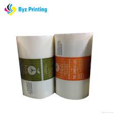 2019 Custom Printed Luxury Cosmetic Label Printing Cosmetic Jar