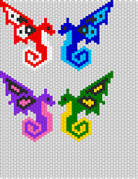 Perler Bead Pattern Unique Butterfly Dragons Bead Pattern Httpwwwpinterestbabsfeasey